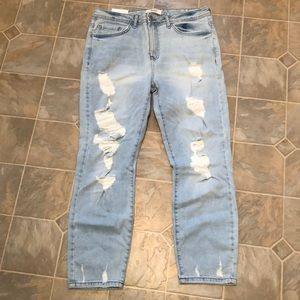 Forever 21 crop Jeans